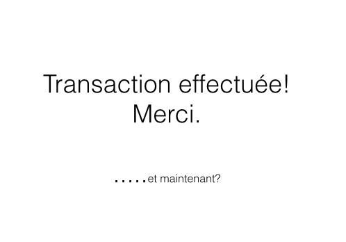 transaction numérique