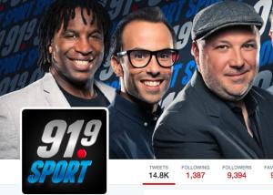 L'équipe 91.9 Sport | miron & cies