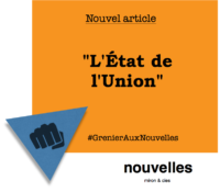 L'État de l'Union | Grenier aux nouvelles