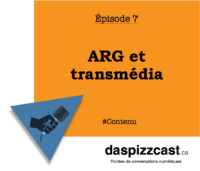 ARG et transmédia | daspizzcast.ca