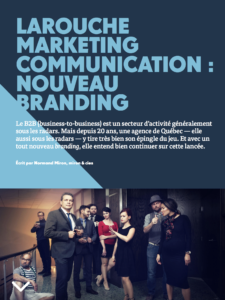 Larouche Marketing Communication : nouveau branding | Grenier Mag