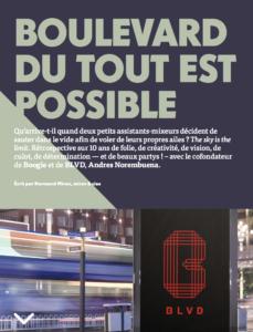Boulevard du tout est possible | Grenier Mag