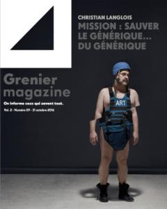 Mission : sauver le générique... du générique | Grenier Mag