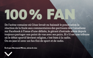 91.9 Sport - 100% Fan | Grenier Mag