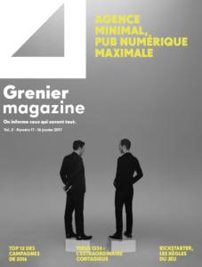 Agence minimal, pub numérique maximale | Grenier Mag