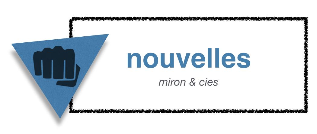 Des nouvelles de Normand Miron | miron & cies