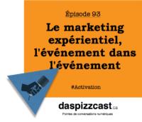 Le marketing expérientiel, l'événement dans l'événement | daspizzcast