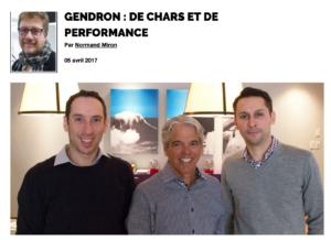 Gendron : de chars et de performance | Grenier aux nouvelles