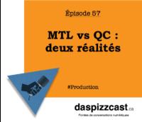 Mtl vs Qc : deux réalités | daspizzcast.ca