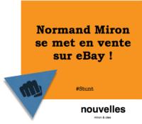 Normand Miron se met en vente sur eBay   miron & cies