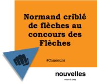 Normand criblé de flèches au concours des Flèches | miron & cies