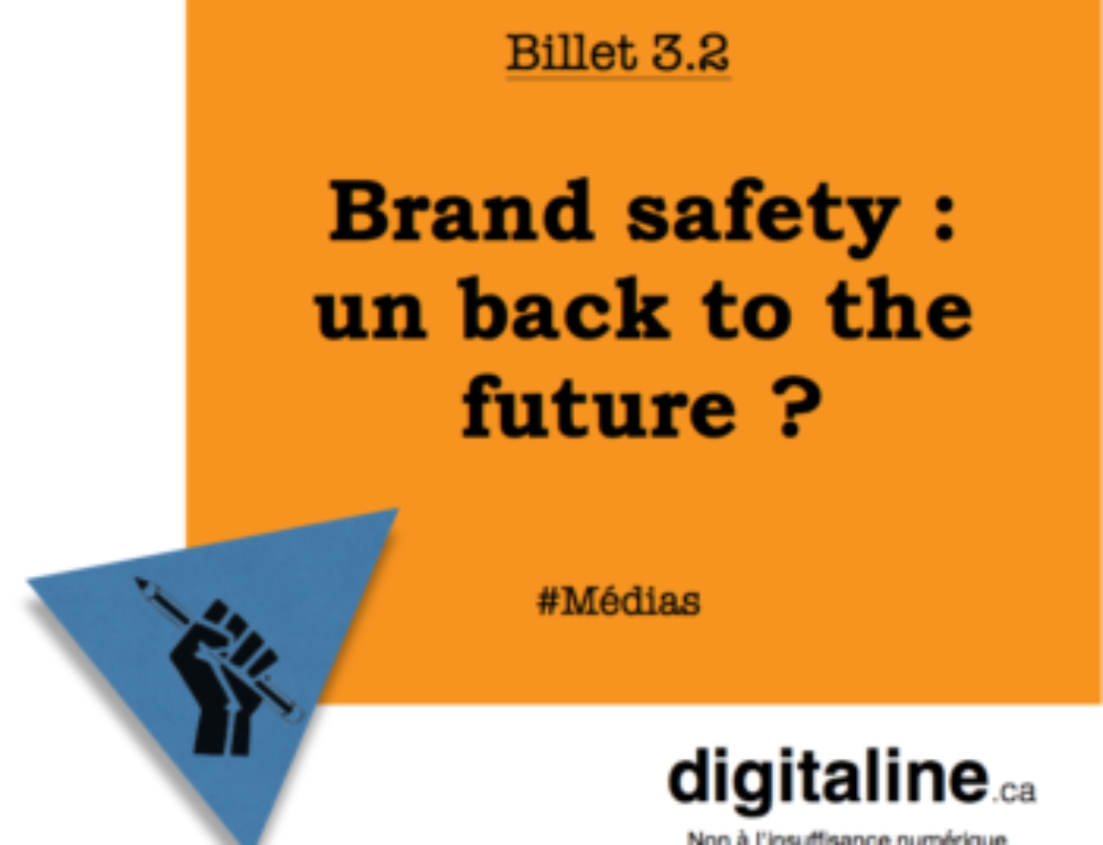 Brand safety – un back to the future?