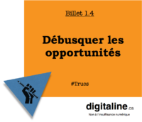 Débusquer les oppportunités | digitaline.ca