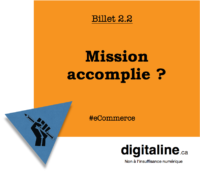 Mission accomplie | digitaline.ca