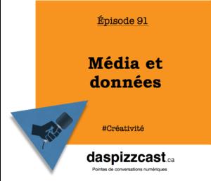 Média et données - conversation avec l'agence Touché! | daspizzcast.ca