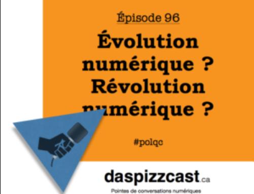 Révolution numérique ? Évolution numérique ?