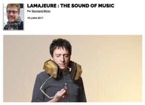 Lamajeure : the sound of music   Grenier aux nouvelles