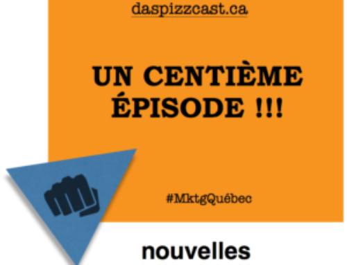Das pizzcast : un centième épisode du podcast québécois !