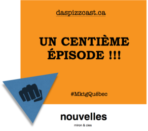 Un centième épisode du podcast québécois | daspizzcast.ca
