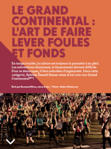 Le Grand Continental - l'art de faire lever foules et fonds