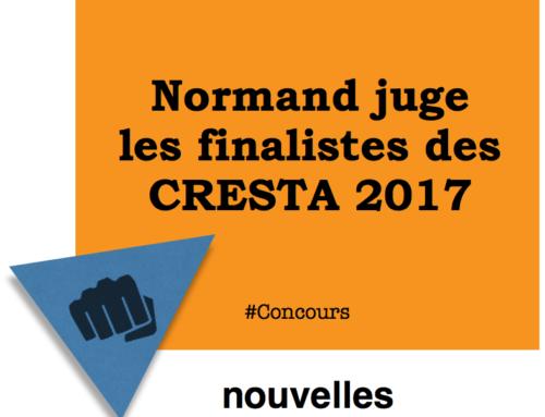 Normand juge les finalistes des CRESTA 2017