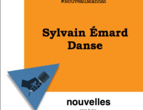 Nouveau mandat : Sylvain Émard Danse