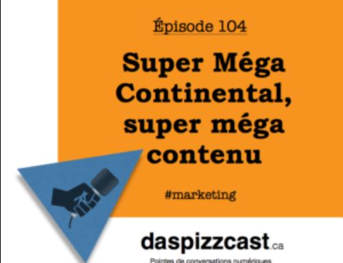 Super Méga Continental, super méga contenu