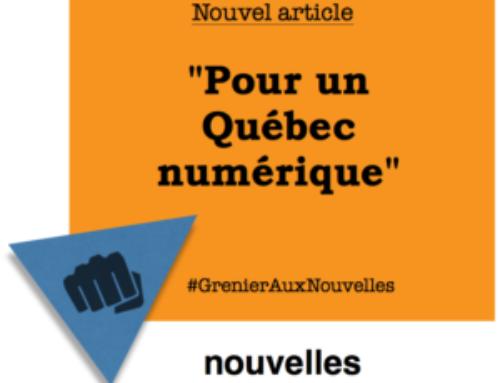 Pour un Québec numérique