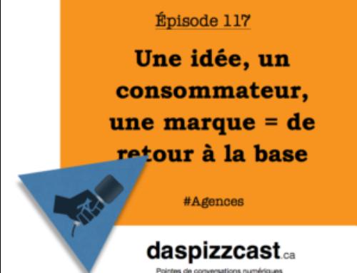 Une idée, un consommateur, une marque = de retour à la base