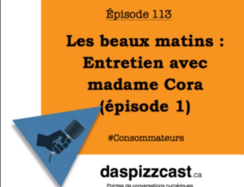 Les beaux matins — Entretien avec madame Cora (épisode 1)