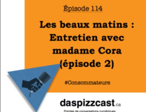 Les beaux matins — Entretien avec madame Cora (épisode 2)